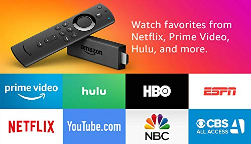 Fire TV Stick with Alexa Voice Remote, streaming media player