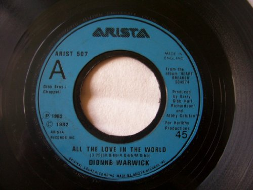 Dionne Warwick / All The Love In The World (Dionne Warwick All The Love In The World)