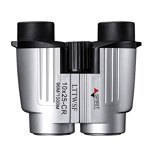 Binoculars for Adults LTTWSF 10X25 HD with Low Light Night Vision for Bird Watching Hunting Sports Events Travelling Adventure and Concerts