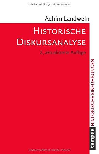 Historische Diskursanalyse (Historische Einführungen)