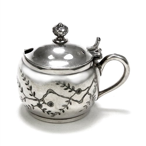 Mustard Pot by Pairpoint, Silverplate Victorian Design