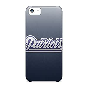 Randbbs Iphone 5c Well-designed Hard Case Cover New England Patriots Protector