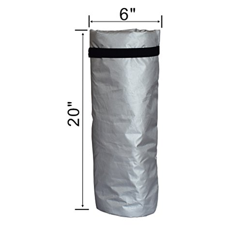 """Outdoor Faucet Cover Faucet Protector Garden Watering Equipment Winter Freeze Protector D6""""xH7"""" (2.77, L-D6XH20 inch)"""
