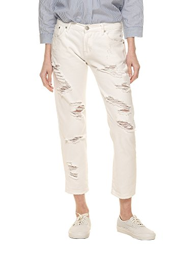 Cotton 100 Color White Glamorous Jeans Women's In WHx7SwTfnz