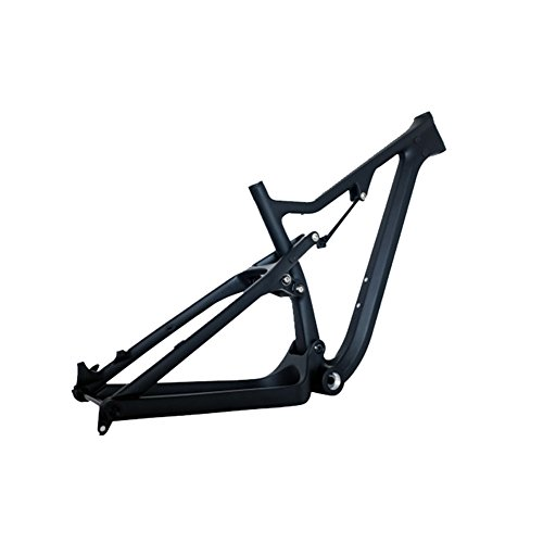 OEM 26er UD Matt Carbon Fiber Mountain Bike (MTB) Suspension Frame Thru Axle Compatible