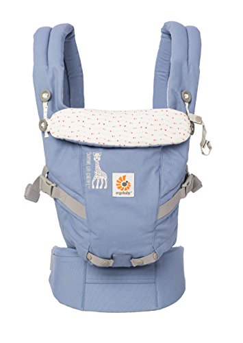Discover Bargain Ergobaby 3 Position Adapt Baby Carrier - Sophie La Girafe Festival Collaboration, I...