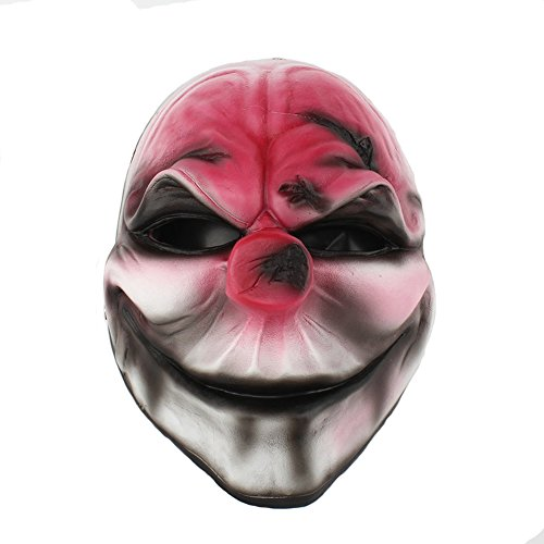 KTYX Halloween Masquerade Party Character Dress Up Resin Mask Harvest Day 2 Series New Red Head Cos -