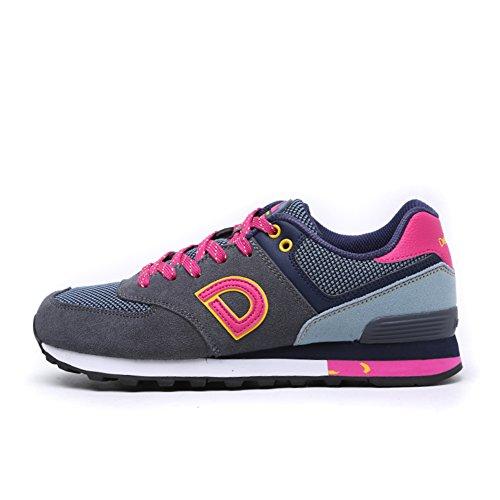 Zapatos de mujer/zapatos para correr/Retro otoño e invierno calzado deportivo las mujeres/ligero/Zapatillas casuales B