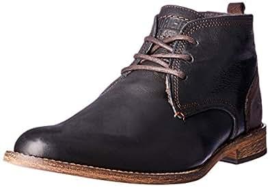 Wild Rhino Men's Chism Shoes, Black, 6 AU (40 EU)