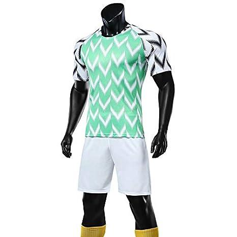 Amazon.com: FFYYJJLEI New Nigeria - Chaqueta de fútbol de ...