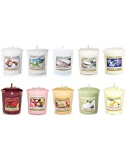 Yankee Candle set di 10 candele, fragranze varie