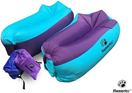 mementotm Original 2 nd generación inflable aire tumbona – Sofá ...