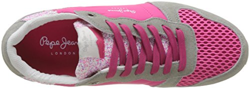 Tongue Gable Pink Sneakers Jeans Disco Femme Basses Pepe Rose z1pE5qx5w