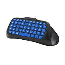 Snakebyte KEY:PAD - Attachable Wireless Keyboard for your Playstation 4 Controller / Gamepad - QWERTY