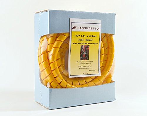 - Pre-Cut Spiral Wrap Hose Protector, 3/4