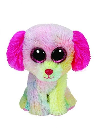 Amazon Com Lovesy The Dog Ty Beanie Boo Justice Exclusive 6 Toys