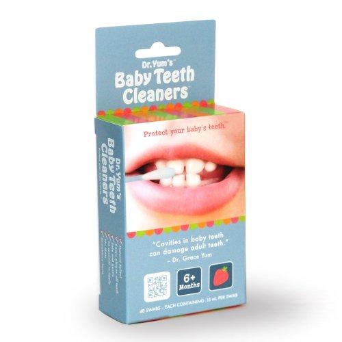 Nettoyeurs de dents de bébé du Dr Yum (paquet de 48)