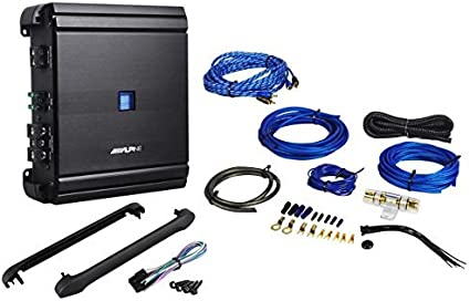 pkg 10 FUSES /& PD-4KIT AMP CABLES 4 AWG WIRE 2500W CAR AMPLIFIER RCA INSTALL KIT