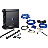 Alpine MRV-M500 500 Watt RMS Class D Mono Car Amplifier + Amp Kit