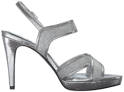 Sandal Ansel Adrianna Silver Dress Papell Women's fqnSF1
