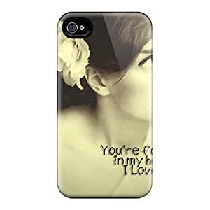 For Iphone 4/4s Protector Case Foreva In Ma Heart Phone Cover