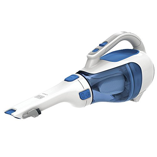 BLACK+DECKER HHVI320JR02 Dustbuster Cordless Lithium Hand Vacuum, Magic Blue