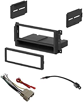 Car Radio Stereo 2Din Dash Kit Panel Wire Harness for 2007 Chrysler Dodge Jeep