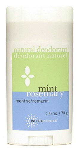 (Earth Science Mint/Rosemary Deodorant, 2.5 Ounce - 6 per case.)