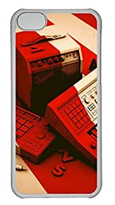 iPhone 5C Cases & Covers - Creative Illustration Color PC Custom Soft Case Cover Protector for iPhone 5C - Transparent