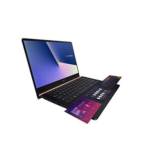 "ASUS ZenBook Pro 14 UX480FD-BE010T - Portátil de 14"" FullHD (Intel Core i7-8565U, 16GB RAM, 512GB SSD, NVIDIA GeForce GTX1050 4 GB, Windows 10) Metal Azul Profundo - Teclado QWERTY Español 4"