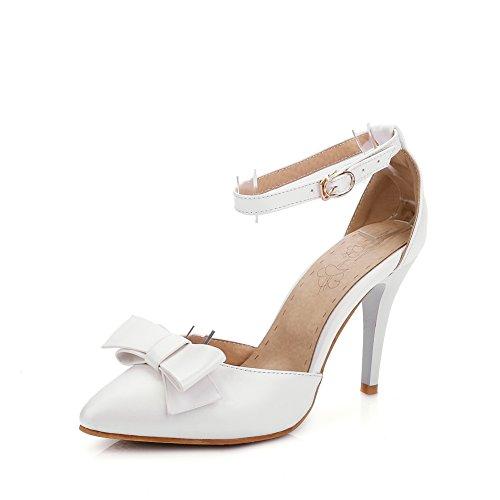 35 white Con Sandali Bianco Donna An Zeppa wYxq7