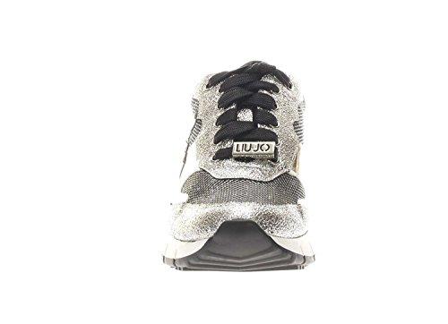 45 Silver Liu Argento MOD Sneaker Running Col DS18LJ05 TC Linda Donna Scarpe Jo vwf4qYHW