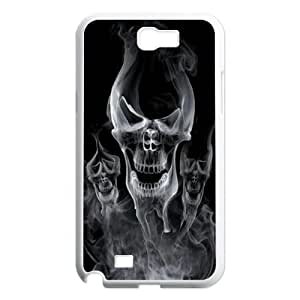 Skull Day of the Dead Hard Rubber Phone Cover Case For Samsung Galaxy Note 2 Case GHLR-T395420