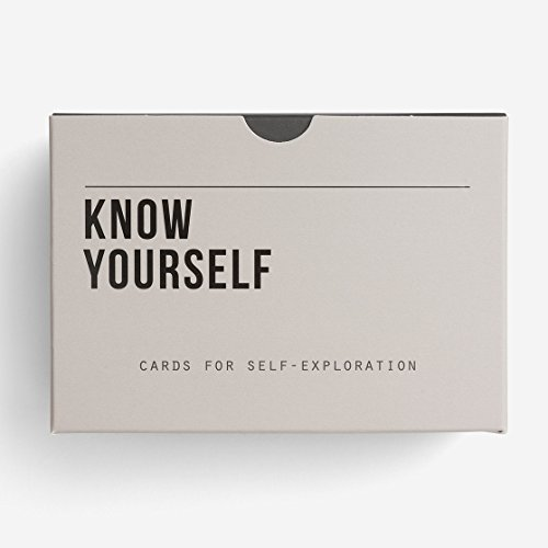 Yourself Card - The School of Life - Know Yourself Prompt Cards - Cards for Self-Reflection