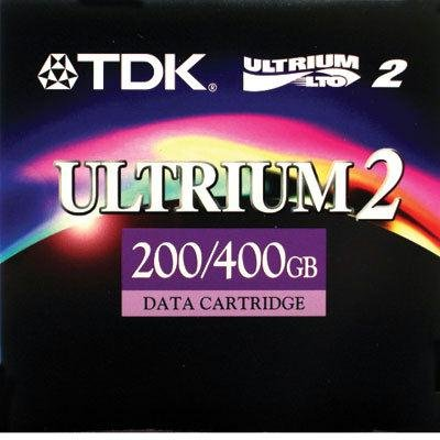 TDK D2405LTO2 200/400GB LTO Ultrium 2 Cart by TDK