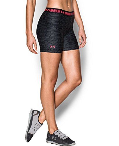 Under Armour Women's Heat Gear Printed Middy Shorts
