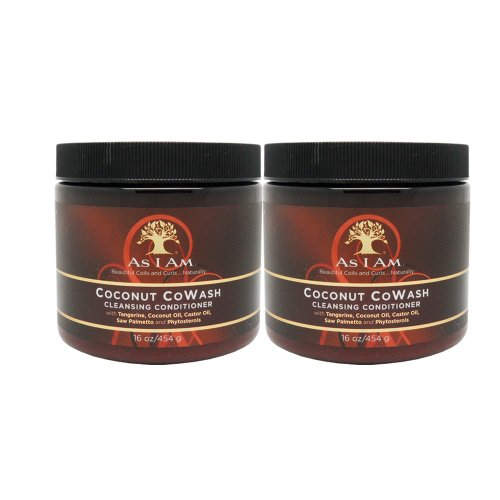 Price comparison product image As I Am Coconut Cowash Cleansing Conditioner (Pack of 2)