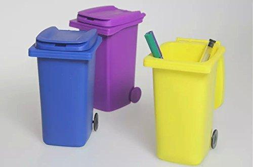 Foweryy pratique poubelle bureau débris seau mini ordinateur de