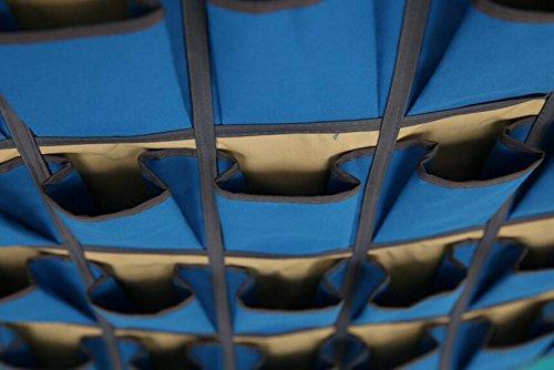 Aiweasi 24 Multi-Layer Hanging Bag Non-Woven Wall Hanging Storage Bag