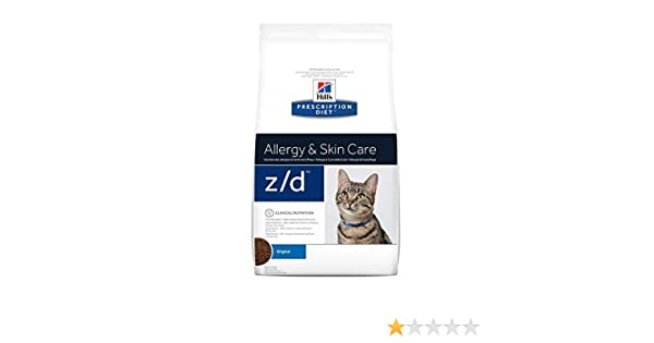 Hills Pr Diet Feline z/d Low Allergen 2 kg: Amazon.es: Productos para mascotas