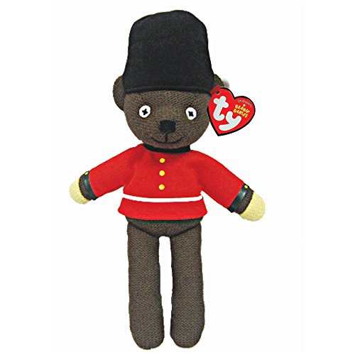Plush Bear Teddy Mr Bean (Ty Beanie Babies Mr. Bean - Royal Guardsman)