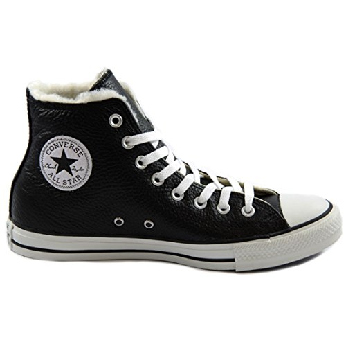 Converse Unisex-Adult Chuck Taylor All Star Adulte Shearling HI Trainers Black/White ac1lqt8