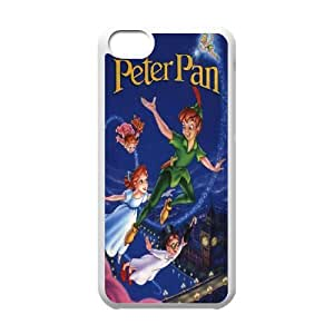Peter Pan Cartoon - Never Grow Up Productive Back Phone Case For Iphone 5c -Pattern-14