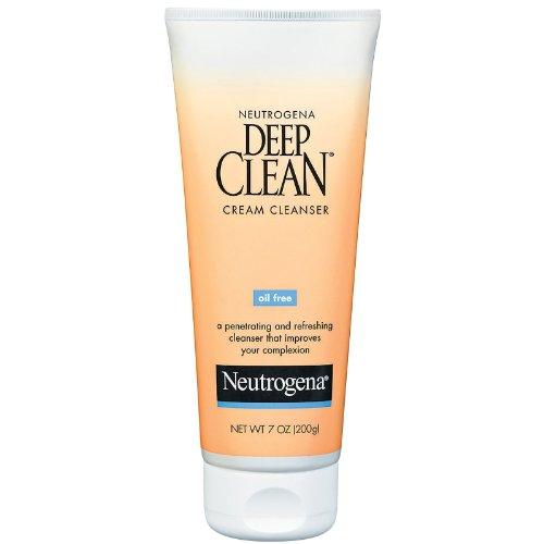 Neutrogena Neutrogena Deep Clean Oil Free Cream Cleanser, 7