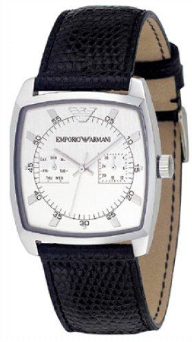Emporio Armani AR0309 - Reloj de pulsera hombre, piel