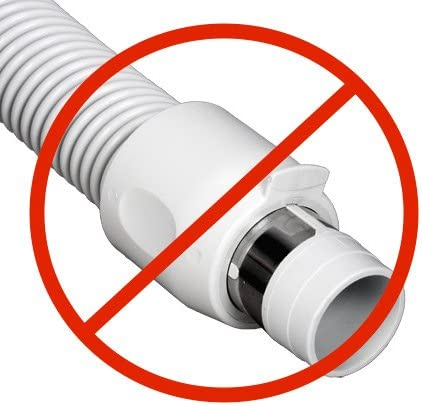 NEW GENUINE Vacuflo 30/' Pronged TurboGrip central vacuum hose /& rack