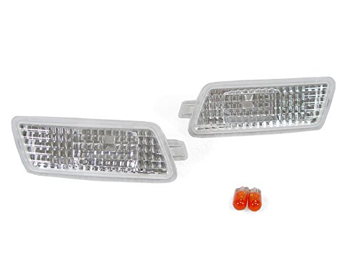DEPO 2006-2008 Audi A3 8P S-Line Euro Clear Bumper Side Marker Lights