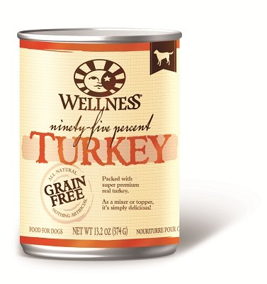 WELLPET, LLC - WELLNESS DOG NINETY-FIVE TURKEY Case 12/13.2 OZ (95% Wellness Turkey)