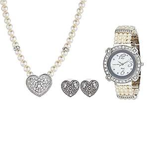 Charles Delon Alloy Jewelry Set - 3 pieces, 5787LIMW