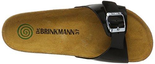 Noir 1 Mules Femme Dr Brinkmann Dr Brinkmann Schwarz 701101 qw7vfx
